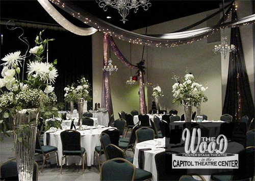 Wedding Facility Rentals at The Wood Center