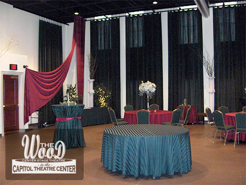 Reception and Party Facility Rentals at The Wood Center